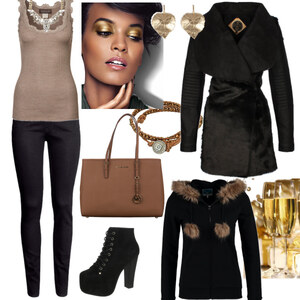 Outfit schickes Silvester von Claudia Giese