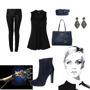 Outfit Silvester Casual von selinavolk
