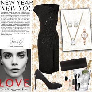 Outfit new year's glamour von Natalie