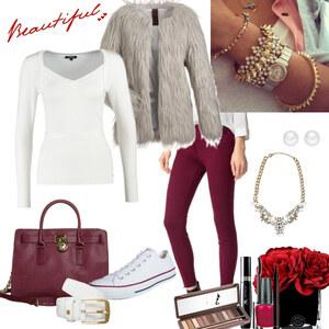 Outfit sweet winter days von Natalie
