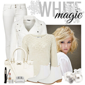 Outfit White magic von Justine