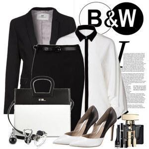 Outfit B&W Edit von Justine