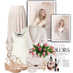 Outfit White candy von Justine