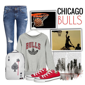 Outfit Chicago Bulls von Justine