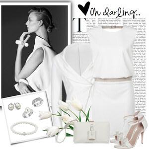 Outfit white snow von Ania Sz