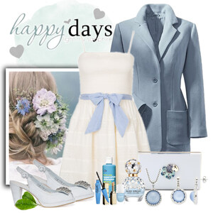 Outfit Happy Romantic Day von Justine