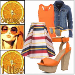 Outfit Orange  von ellenmllr