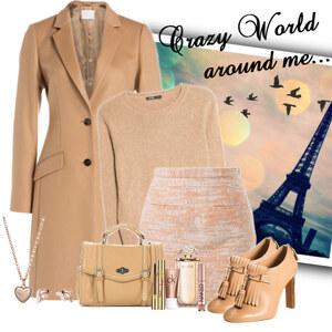 Outfit camel von Ania Sz