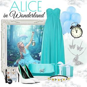 Outfit Alice in Wonderland von Justine