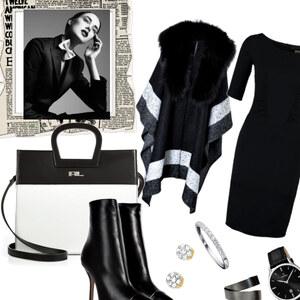 Outfit Black-White von sohanz