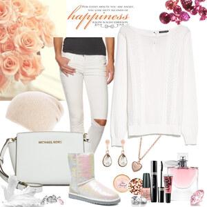 Outfit white dream von Natalie