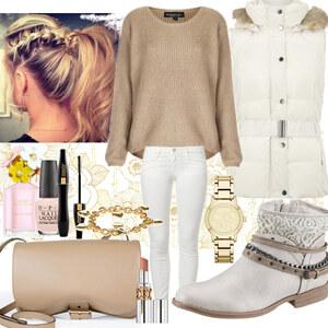 Outfit White/beige <3 von Nisa