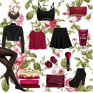 Outfit wilde rose von selinavolk
