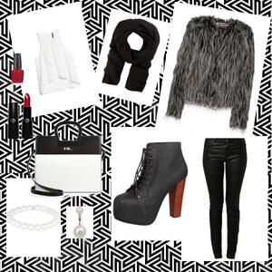 Outfit kuschelig und trotzdem sexy, im winter kann man alles tragen von Nathalie