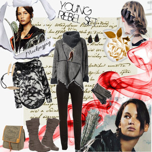 Outfit inspired by Katniss Everdeen von Mbali