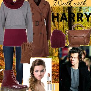 Outfit Walk with harry von Lisa Bunzel
