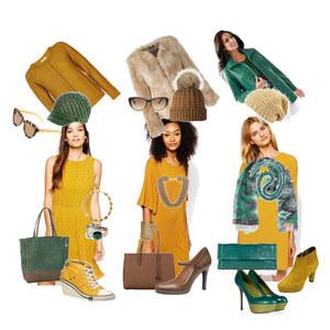 Outfit Colors - Senfgelb Kombinationen von sohanz