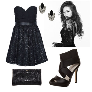 Outfit black beauty von Claudia Giese