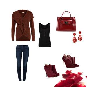 Outfit Rosen von Eleen