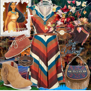 Outfit Pocahontas von Mbali