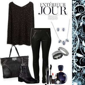 Outfit always elegant with black von Natalie