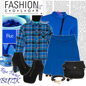 Outfit blue von Ania Sz