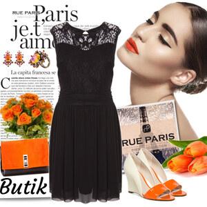 Outfit orange von Ania Sz