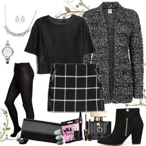 Outfit black beauty von Natalie