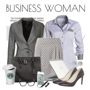 Outfit Business Woman von Justine