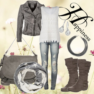 Outfit Simple Grey von Mbali