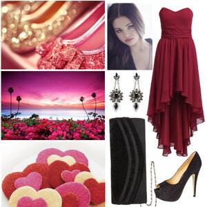 Outfit romantisch von Claudia Giese