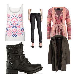 Outfit winterlich von Caro Hammerl