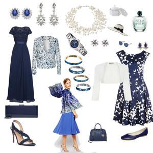 Outfit blue mood von Oda-Viola Korte