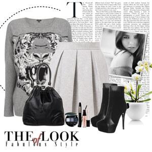 Outfit gray von Ania Sz