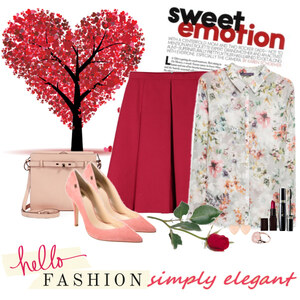 Outfit hearts von Ania Sz