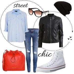 Outfit Street chic von Elisa