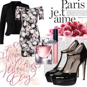 Outfit Valentinstag in Paris  von ellenmllr