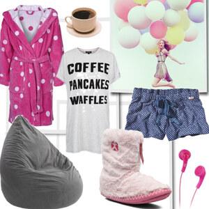 Outfit Anti Valentine ;) von Elisa