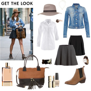 Outfit Get the Look - Miranda Kerr von Franzisca