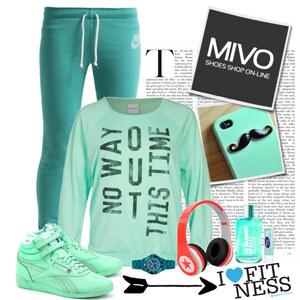 Outfit mint von Ania Sz