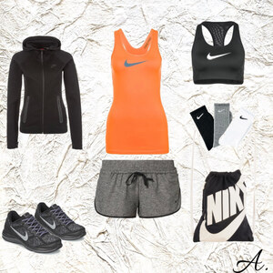 Outfit Nike ins Fitness! von alisia
