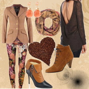 Outfit simply brown von Mbali