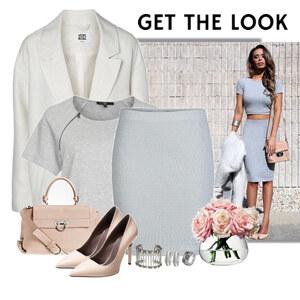 Outfit grey von Ania Sz