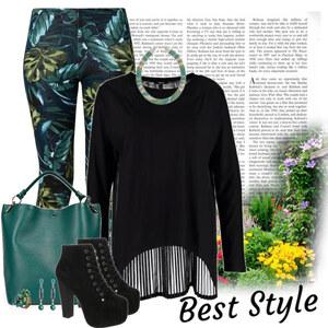 Outfit jungle von Ania Sz