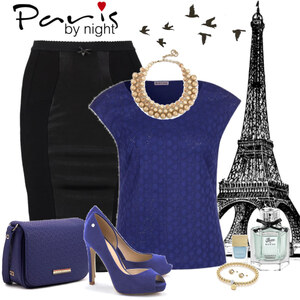 Outfit Paris by night von Ania Sz