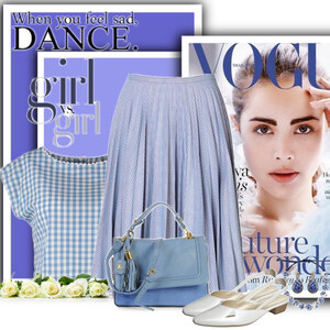 Outfit blue girl von Ania Sz