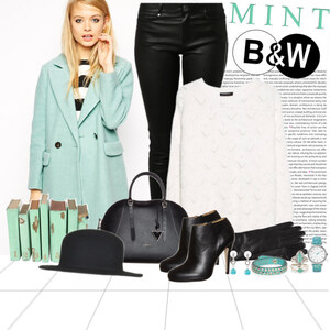 Outfit b and w and m von Ania Sz
