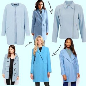 Outfit Blaue Mäntel  von domodi