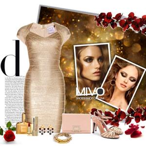Outfit gold shoe von Ania Sz