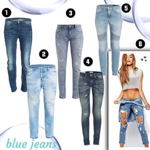 Outfit Blue jeans von domodi